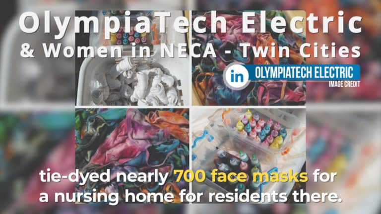 Read more about the article OlympiaTech and Women in NECA Twin Cities Help Nursing Home Residents